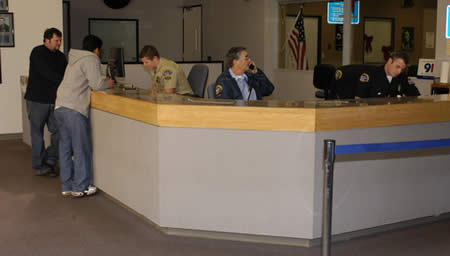 The Officer Is Stationed At Front Desk In Lobby Area Of Station Officers Are Igned To This Position For Duration A Shift Deployment