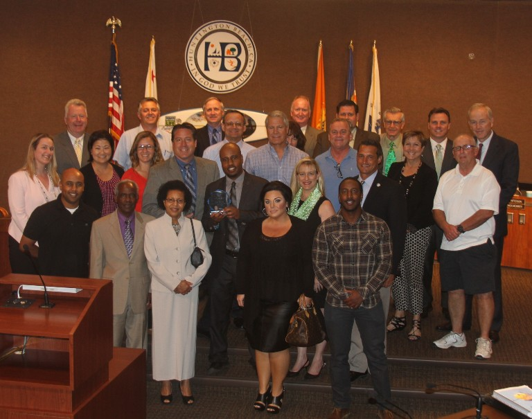 Photo of City Council Event - Click to Enlarge