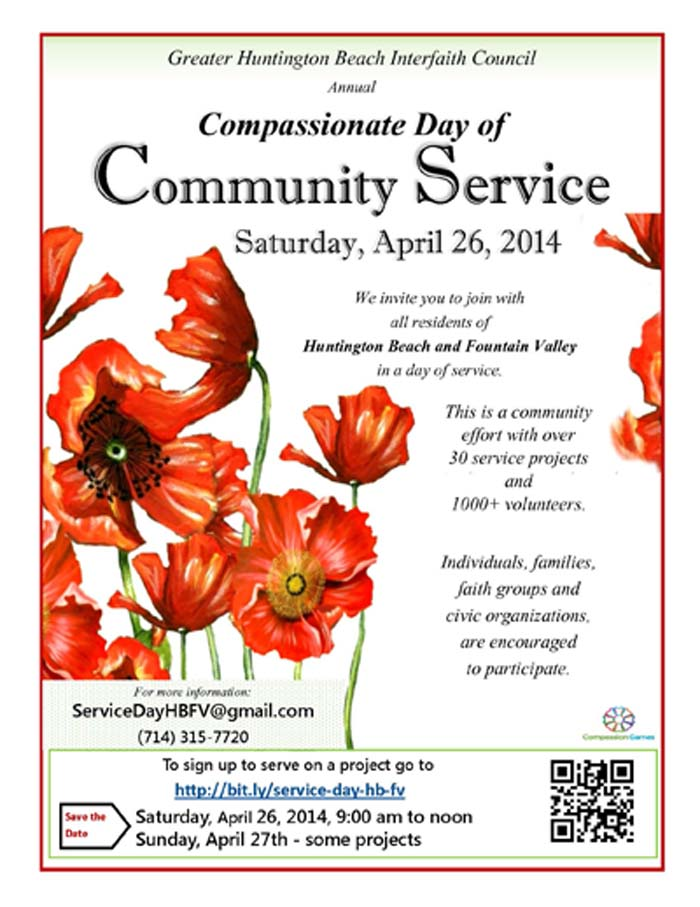 April Calendar Picture Ideas : City of huntington beach ca news compassionate day