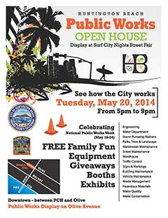 The City Of Huntington Beach Public Works Department