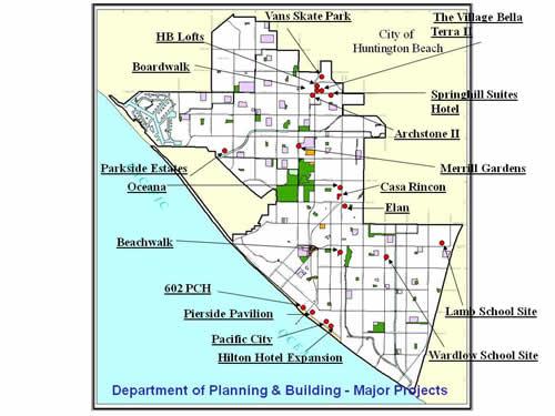 City of Huntington Beach CA News Major Projects