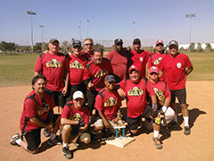 SCMAF MEN'S & COED Softball Tournament - Divisionals - September 8, 2018  Photo - Click to Enlarge
