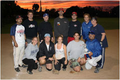 SCMAF Coed Softball Tournament - Championship - October TBD, 2018  Photo - Click to Enlarge