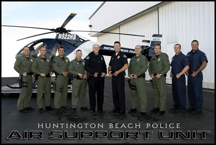 City of Huntington Beach, CA - HBPD Air Support Bureau
