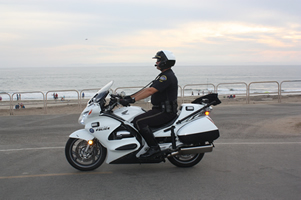 Our Motorcycle Officers ride the Honda ST1300P Police Motorcyle