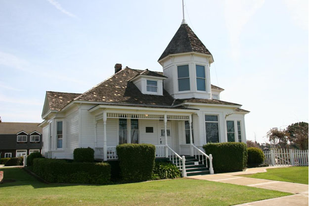 The Newland House Museum Above Is Oldest Residence Built In City Of Huntington Beach And Maintained By Historical Society