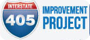 405 Improvement Project Logo