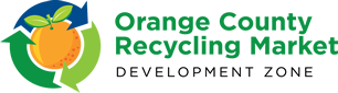 Orange County Recycling Market Development Zone Logo