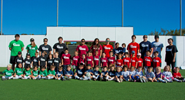 Pee Wee Soccer league photo