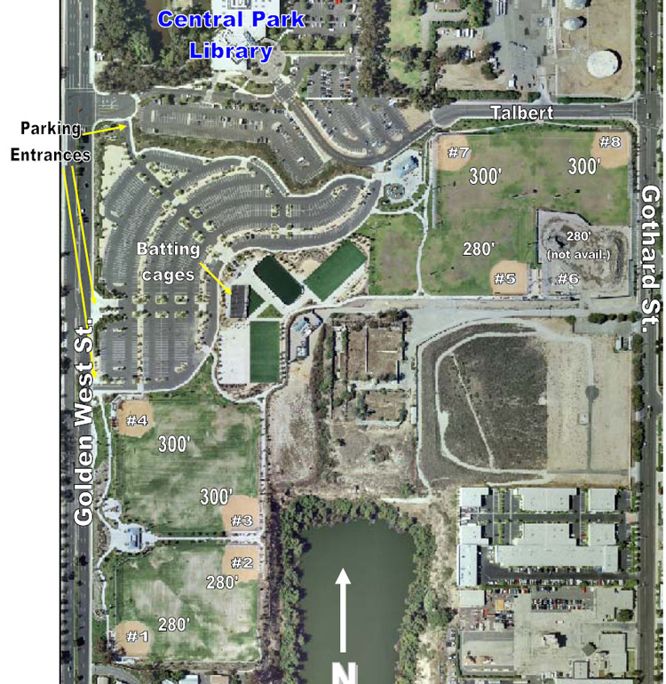 Huntington Beach Sports Complex Parking