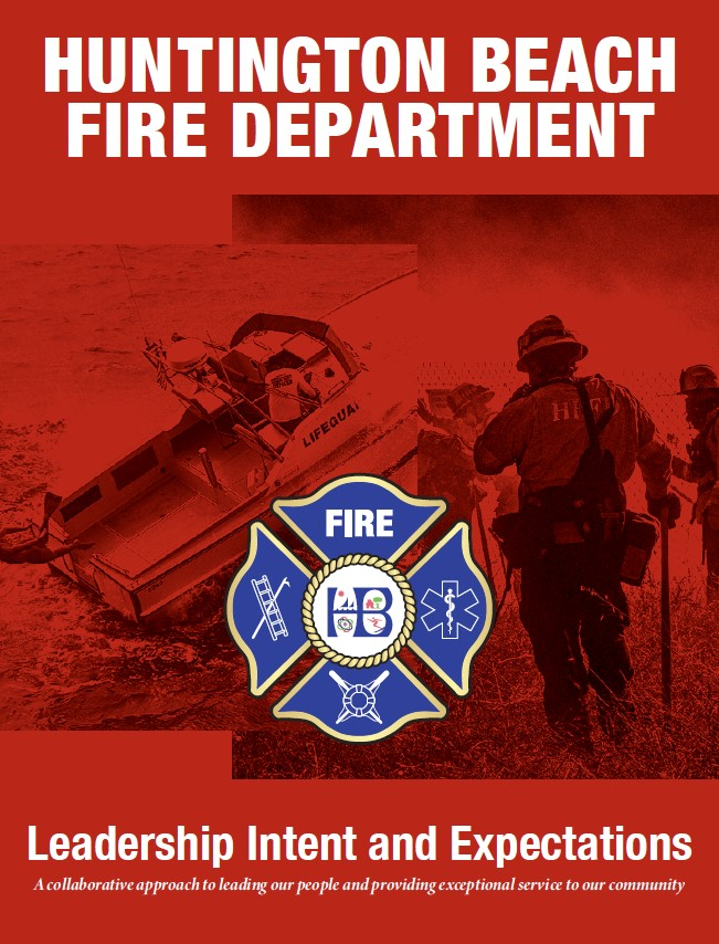 HBFD Leadership Intent and Expectations