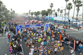 Photo of Huntington Beach racing event