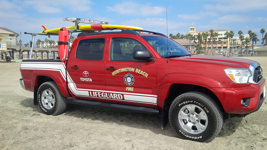 City Of Huntington Beach Ca Marine Safety