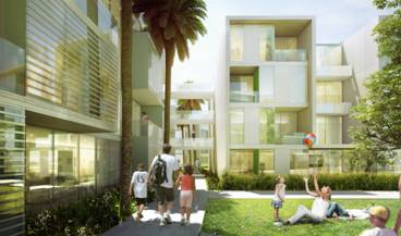 Pacific City Residential Rendering