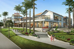 Pacific City Retail Rendering