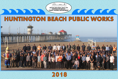 2018 Public Works Department Photo