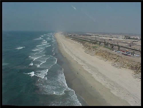 The Pacific Ocean And Beach Huntington Ca