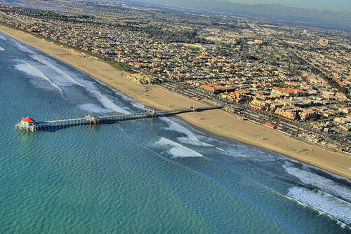 Huntington Beach is famous for the beaches, the pier and the surfing culture