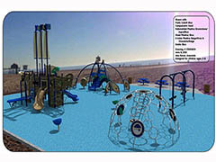 All Inclusive Playground at the Beach  Photo - Click to Enlarge